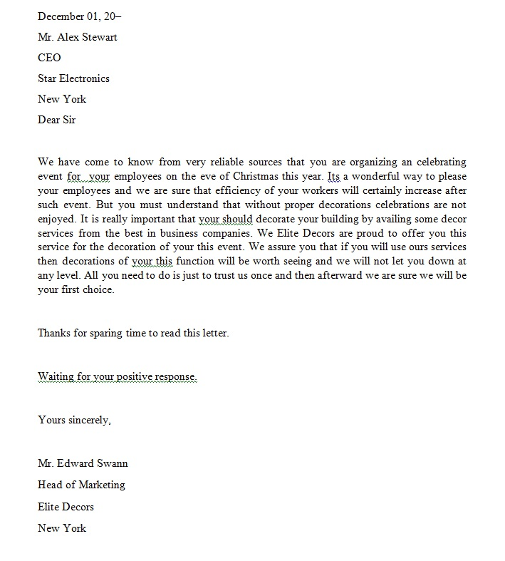 We Offer Excellent Cover Letter Writing Services