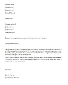 writing disagreement letter archives free sample letters